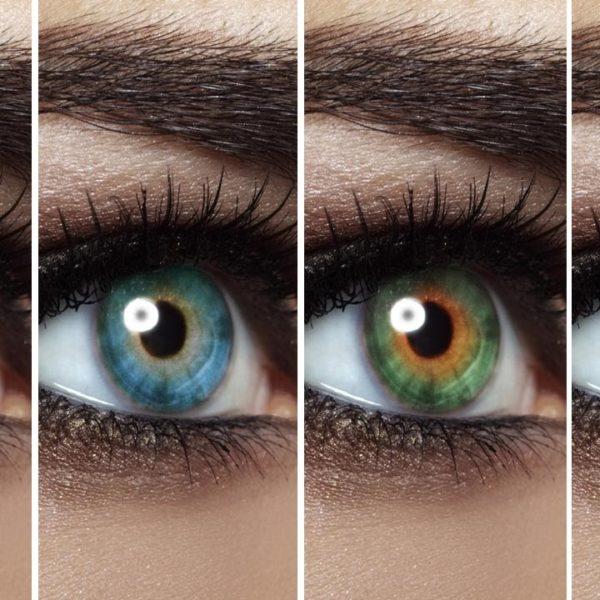¿Por qué cambian de color los ojos?