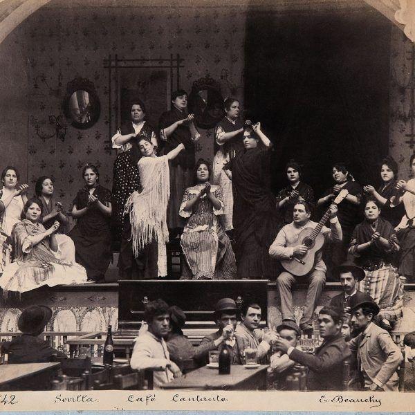 Cafés cantantes en Sevilla